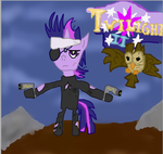 Apocalyptic Outlander Twilight Sparkle by EqualizerIsDeath