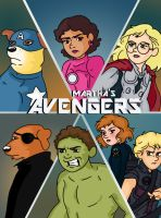 Martha's Avengers by SarcasticLeaves