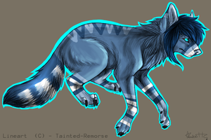 Wolf Adoptable 12 by LeveButt