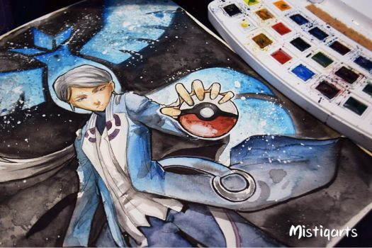 Blanche from team Mystic by Mistiqarts