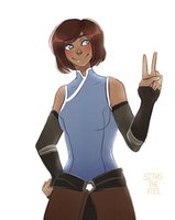 Korra by Sitas-the-Fool