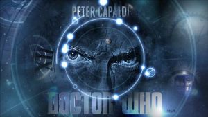 Peter Capaldi Doctor Who by letydb