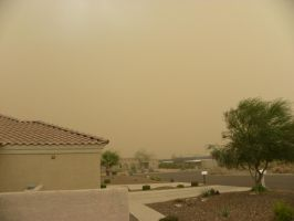 Arizona dust storm 2 by Cassini90125