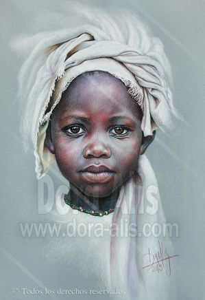 89 Chica Africana by Dora-Alis