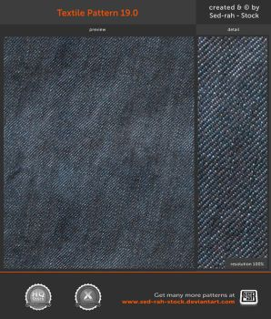 Textile Pattern 19.0 by Sed-rah-Stock