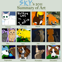 2011 Art Summery by sky-lover10
