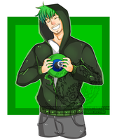 Jacksepticeye by ToniTheOriginator
