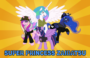 Super Princess Zaibatsu by SubduedMoon