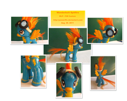 My Little Pony Spitfire Custom by Panzerific