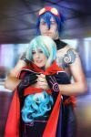 Nia Teppelin and Simon cosplay TTGL Antispiral by MissWeirdCat