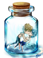 MakoHaru by theshotawithahat