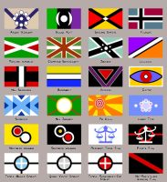 Flags by Kayzig