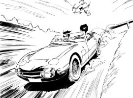 James Bond Cars Commission 14 by aminamat