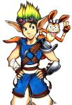 Commission: Jak and Daxter by Smudgeandfrank