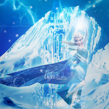 Elsa The Snow Queen,Frozen Themed Wallpaper by AliceTribe