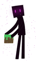Kawaii Minecraft Endermen by MelodyoftheNightFury