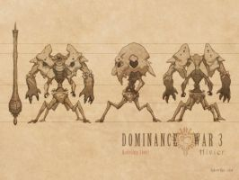 Dominance War - Model Sheet by nJoo