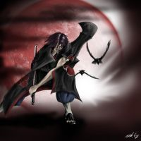 Rage of Itachi by Mihawq