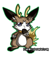 Jackalomon by FlyKiwiFly