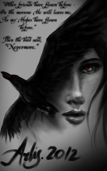 The Raven. by arlisInferno