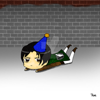SnK Birthday Doodle by RaeSyndrome