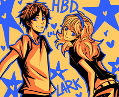 HBD LARK my bro by gisu
