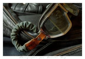 My old leather Jacket and Climax - 003 by laurentroy