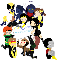 x-men next step by art-is-my-bream