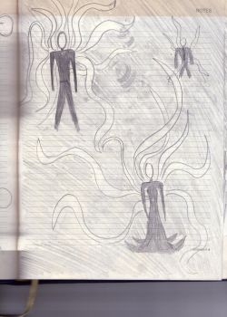 Notebook page 2: Slender family by Allelujah2505
