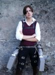 Attack on titan / acwnr - Levi cosplay by Firmily