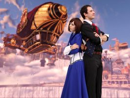 Bioshock Infinite: Airship by SirDomPayne
