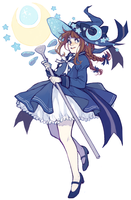 Wadanohara by starpotion