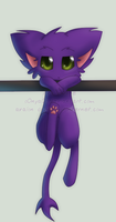 Smile ickle kitty by oOnyaOo