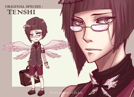 [CLOSED] Original species :  TENSHI. #1 by Aritsune-chan