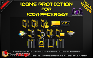 Icons Protection for Iconpackager Yellow 2013 by DShepe