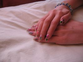 B-day nails more by RattytheScourge