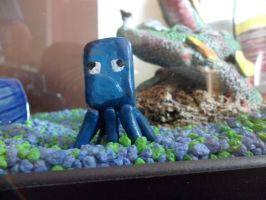 Minecraft - Outdoors - Squid by GeekcraftFigures