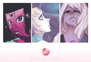 We are the Crystal Gems by silent-requiem
