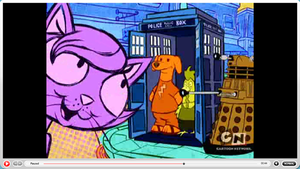 Doctor Who on Cartoon Network by hyde4sale