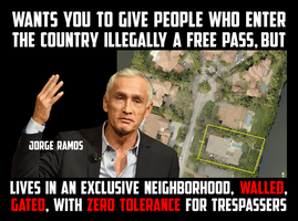 Jorge Ramos Unwilling To Do What He Wants US To Do by CaciqueCaribe