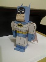 Batman papercraft by BezerroBizarro