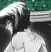 WIP - Motoko by thefreshdoodle