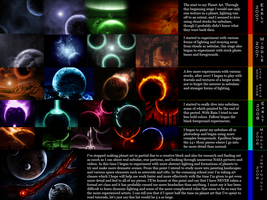 The History of my Space Art by baweaver