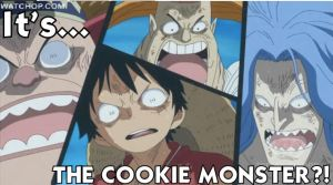 THE COOKIE MONSTER STRIKES AGAIN?! by lu40953