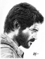 Joel - The Last Of Us by RobertHuffx7