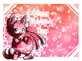 Ninfia Wishes you a Happy Valentine's Day by PixelatedMew
