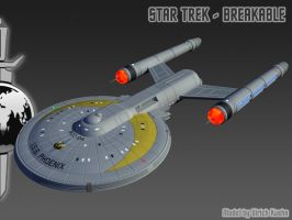 STAR TREK - BREAKABLE: ISS PHOENIX-Windows by ulimann644