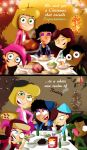 Christmas with Chips n Grapes by xeternalflamebryx