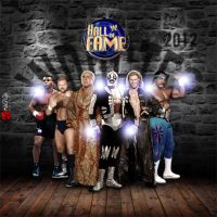 WWE Hall of fame 2012 by KINGGFX1