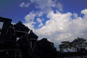 temple and clouds by NumberOneFabbi